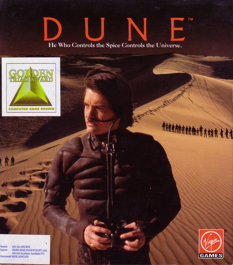Dune DOS Front Cover