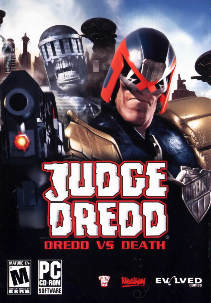 Judge Dredd: Dredd vs Death Windows Front Cover