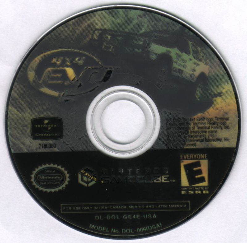4x4 Evo 2 GameCube Media