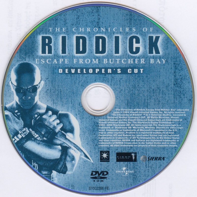 The Chronicles of Riddick: Escape from Butcher Bay Windows Media