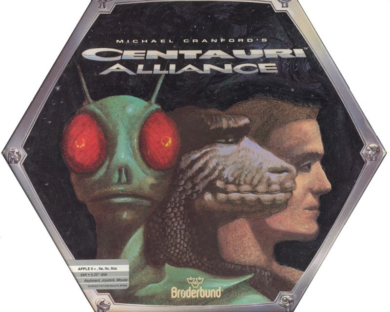 Centauri Alliance Apple II Front Cover