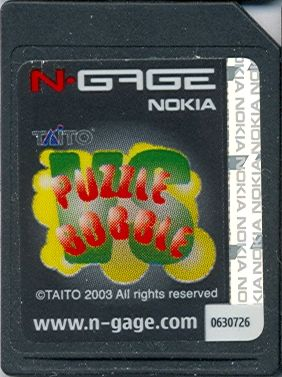 Bust-A-Move N-Gage Media