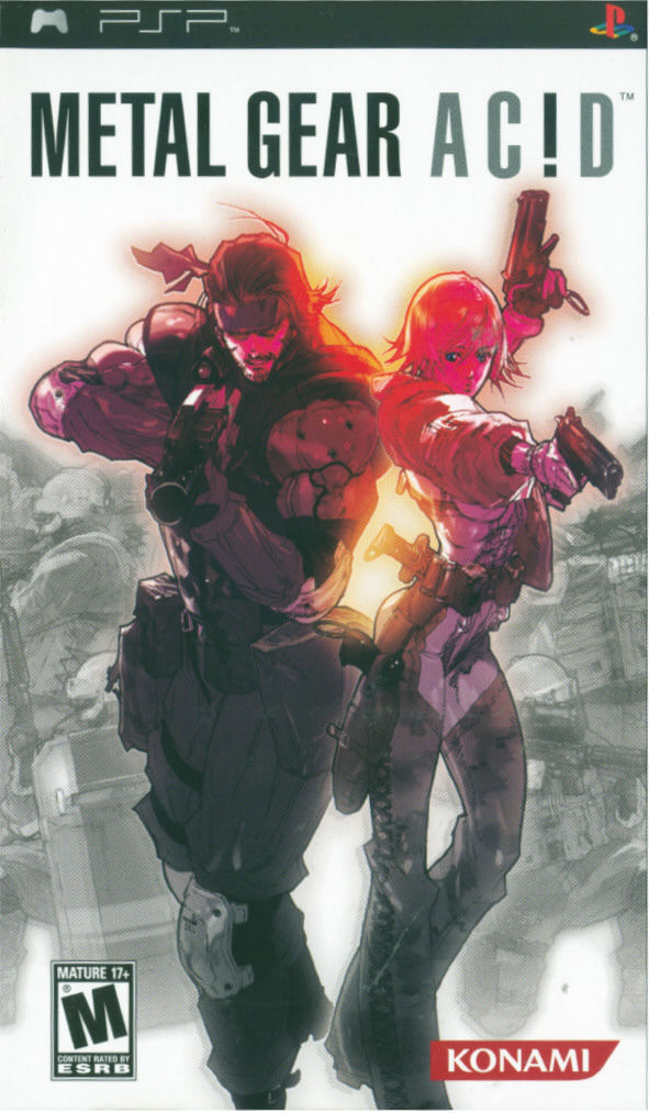 Metal Gear Ac!d PSP Front Cover