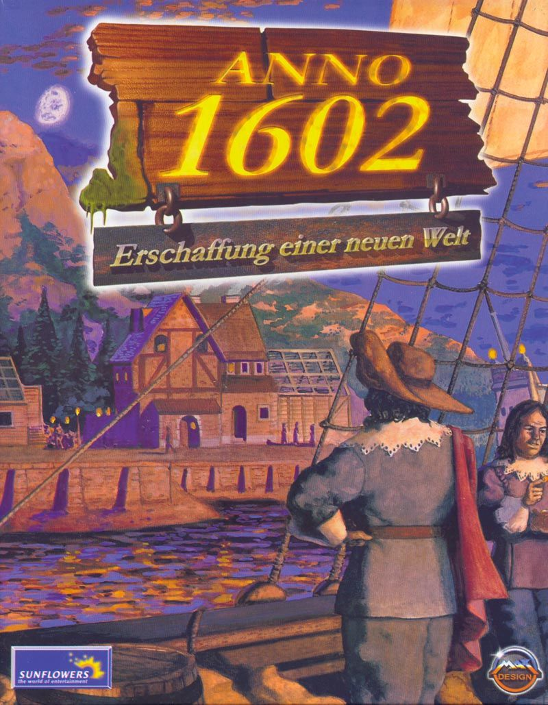 Anno 1602: Creation of a New World Windows Front Cover