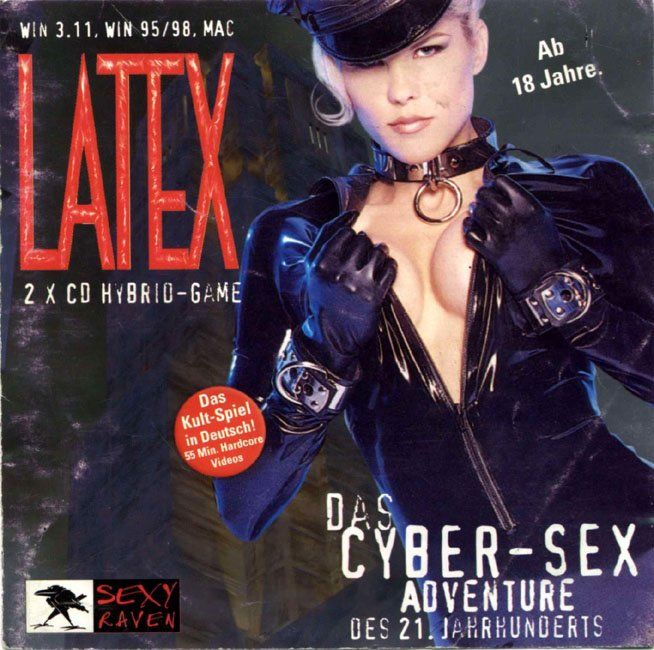 Michael Ninn's Latex: The Game Macintosh Front Cover