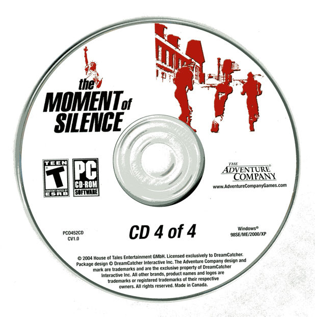 The Moment of Silence Windows Media Disc 4
