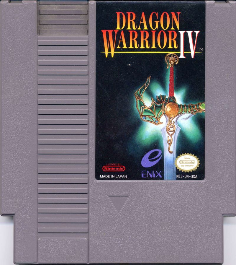 Dragon Warrior IV NES Media