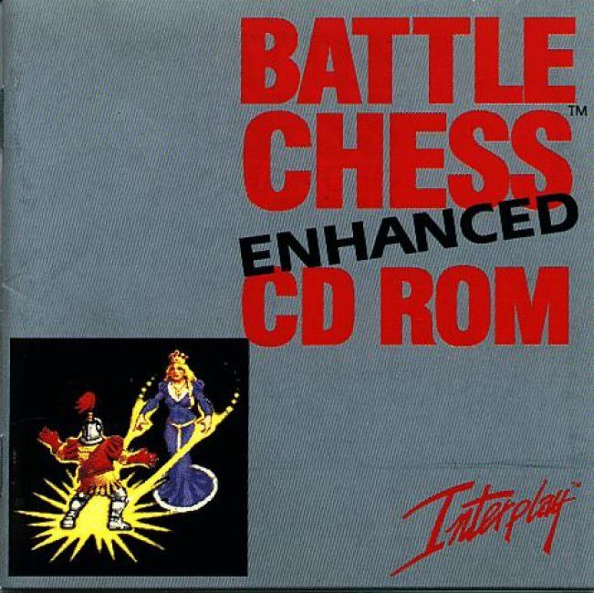 Battle Chess Enhanced CD ROM DOS Other Jewel Case