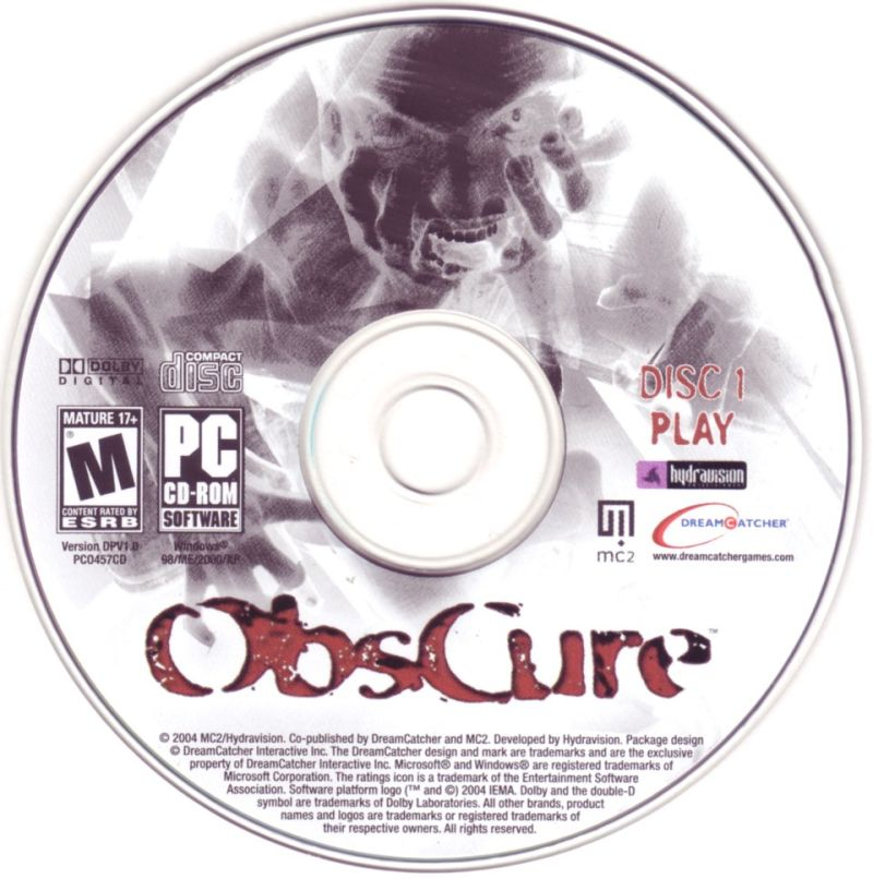 ObsCure Windows Media Disc 1/5