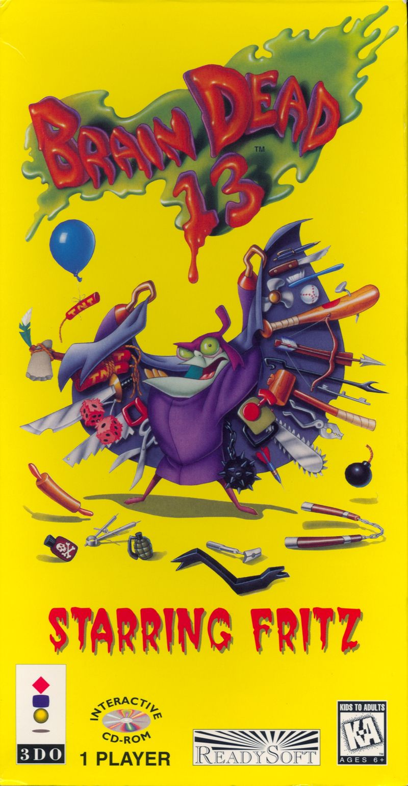 Brain Dead 13 3DO Front Cover