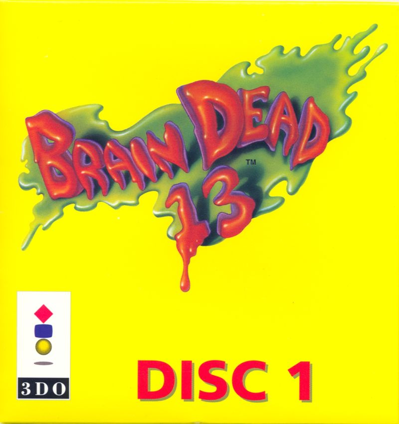 Brain Dead 13 3DO Other Disc 1 Sleeve - Front