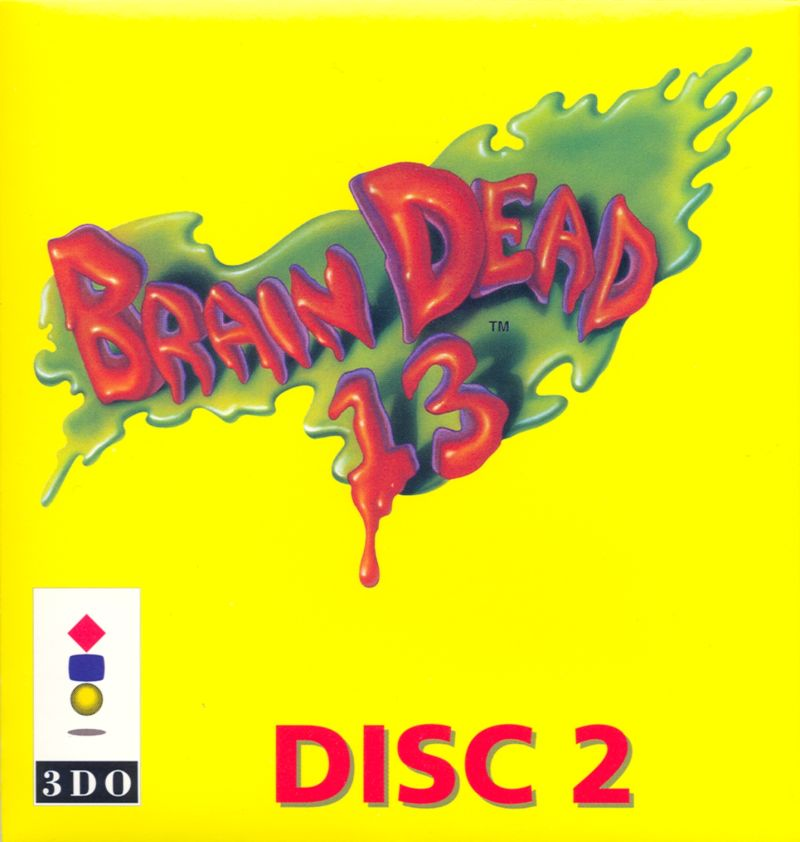 Brain Dead 13 3DO Other Disc 2 Sleeve - Front