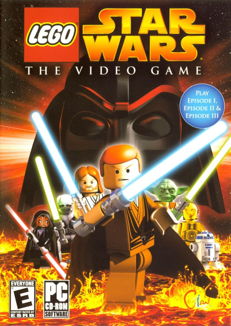 LEGO Star Wars: The Video Game Windows Other Keep Case - Front