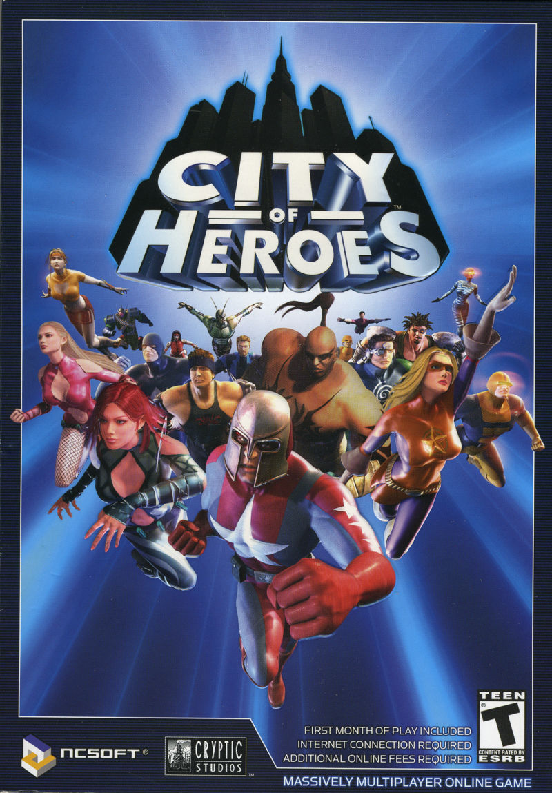 City of Heroes Windows Front Cover