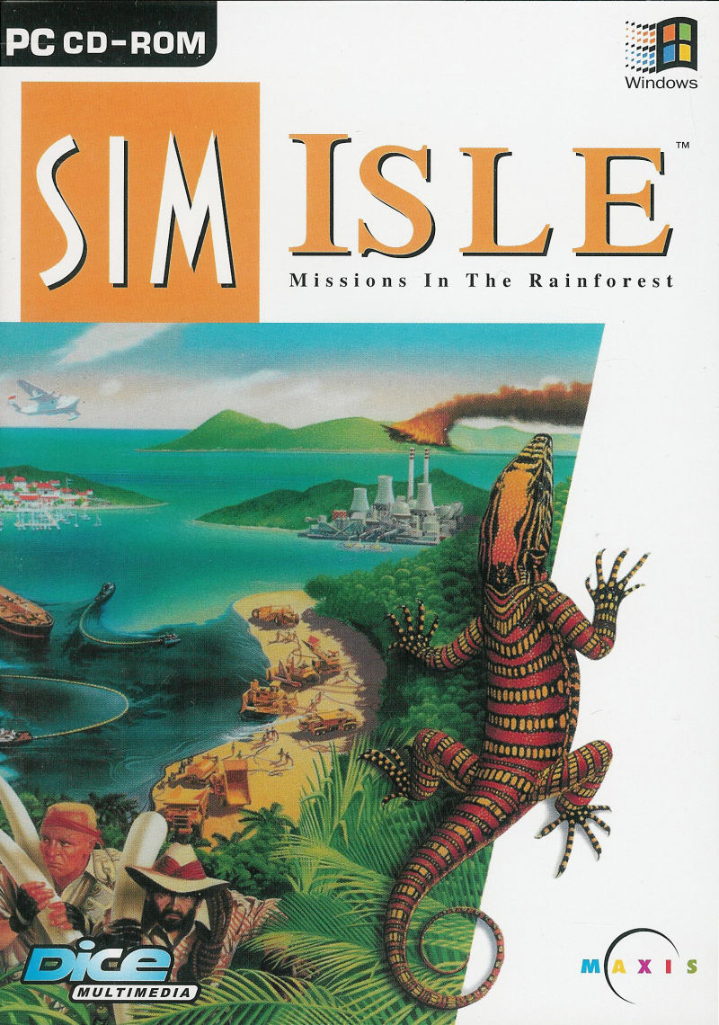 SimIsle: Missions in the Rainforest Windows Front Cover