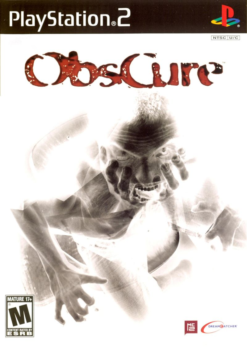 ObsCure PlayStation 2 Front Cover
