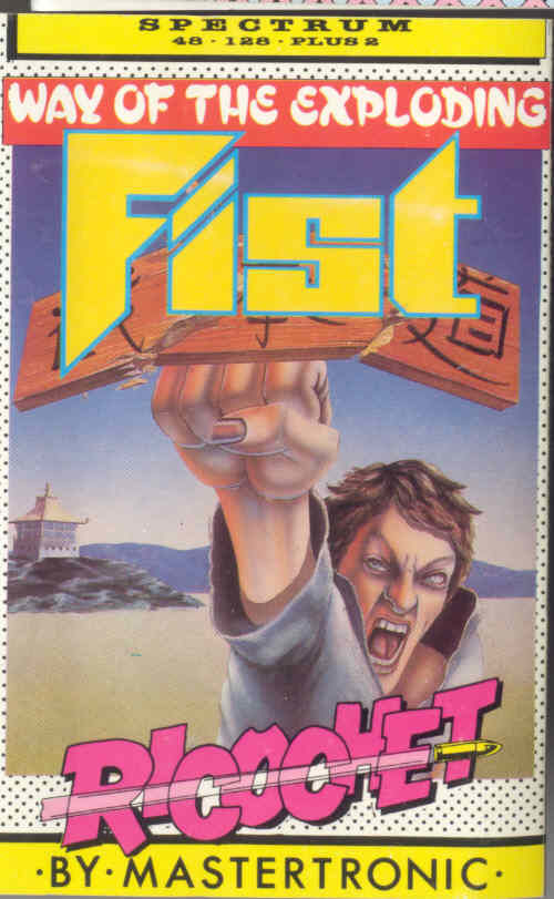 The Way of the Exploding Fist ZX Spectrum Front Cover