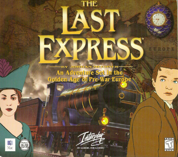 The Last Express DOS Other Disc Holder: Front