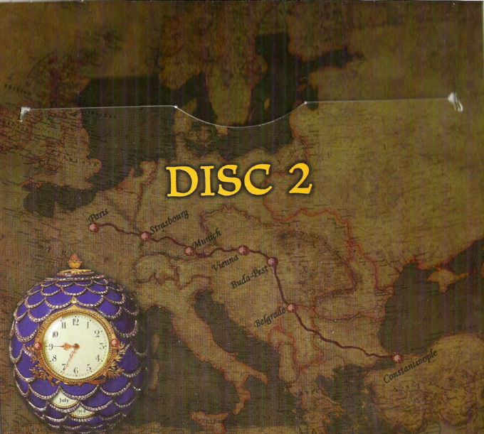 The Last Express DOS Other Disc 2 Holder