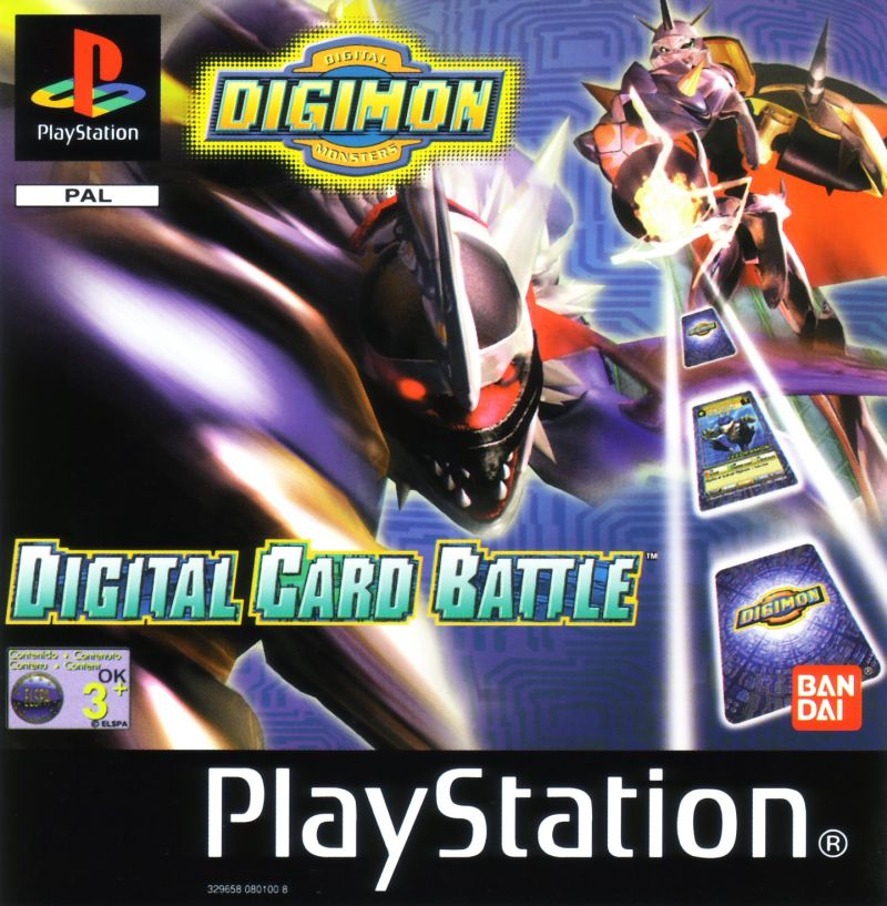 Digimon Digital Card Battle [+Emulador] [PSX] [MF]