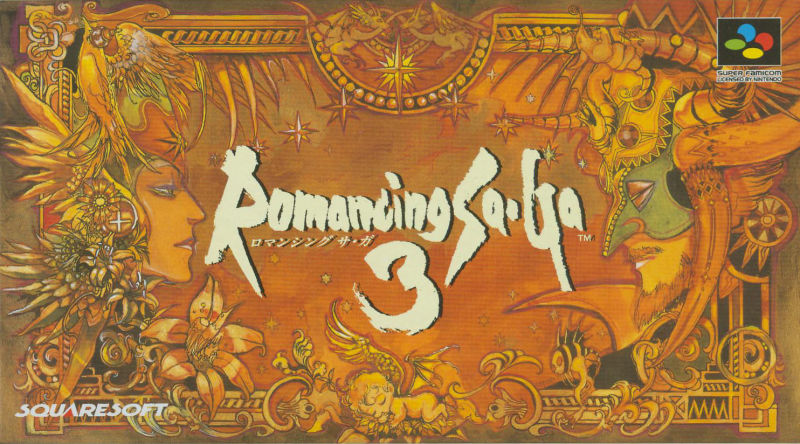 Romancing SaGa 3 SNES Front Cover
