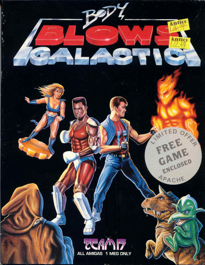 Body Blows Galactic Amiga Front Cover
