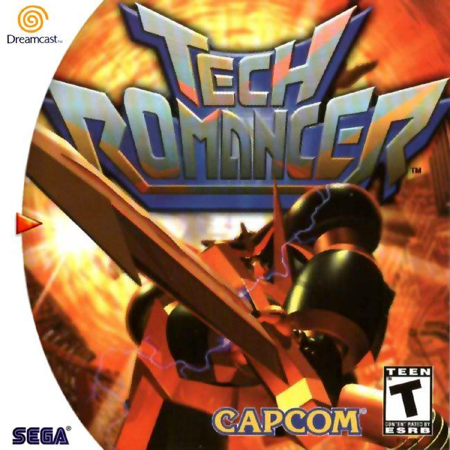 Tech Romancer Dreamcast Front Cover