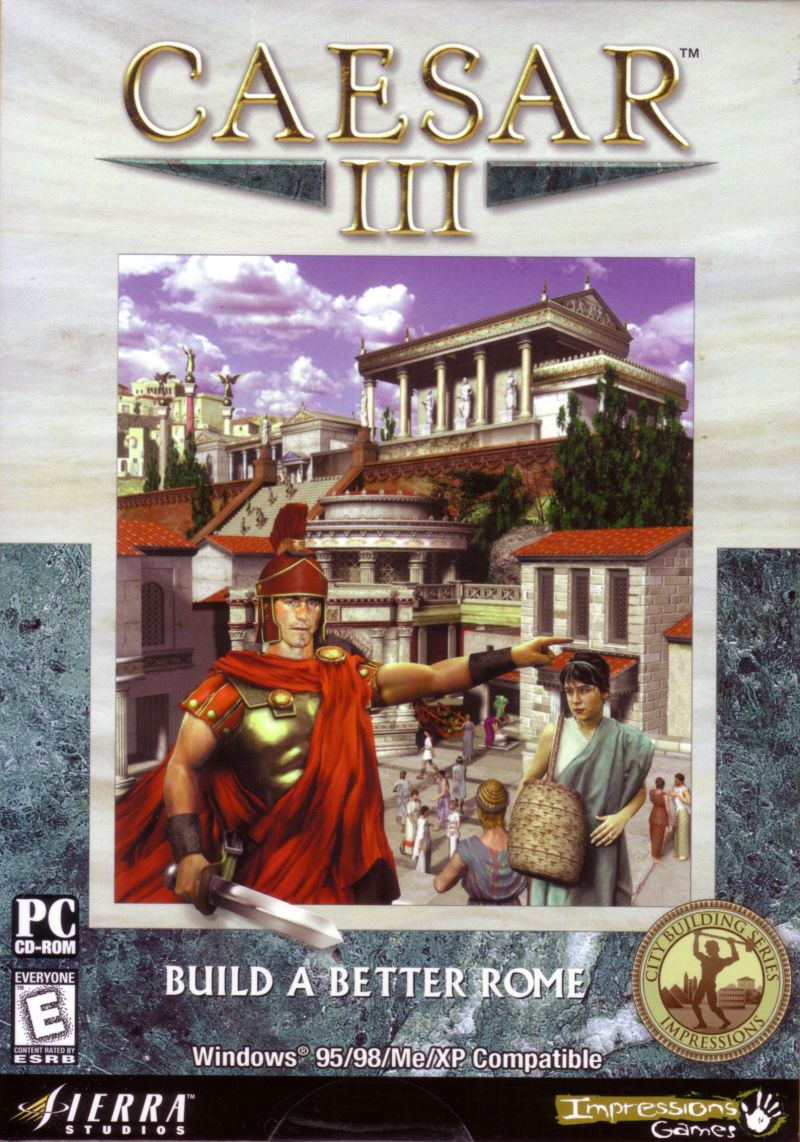 Caesar III Windows Front Cover
