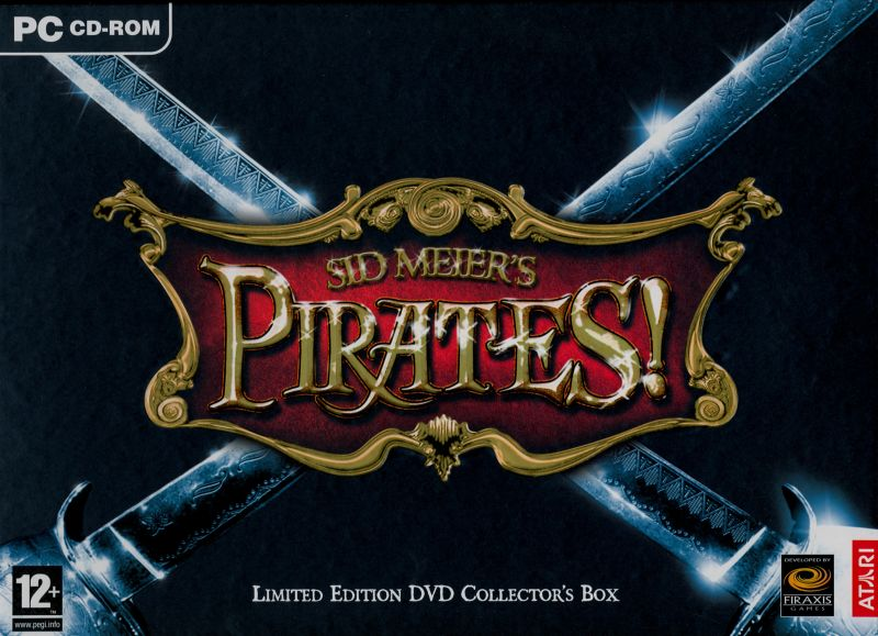 Sid Meier's Pirates! (Limited Edition) Windows Front Cover