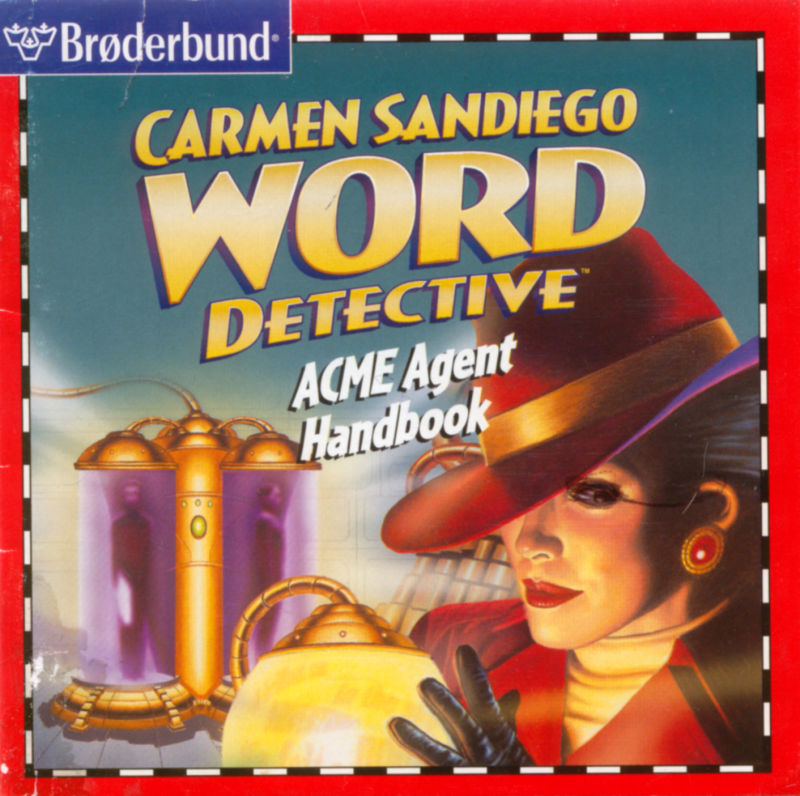 Carmen Sandiego Word Detective Macintosh Front Cover