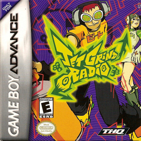 Jet Grind Radio Game Boy Advance Front Cover