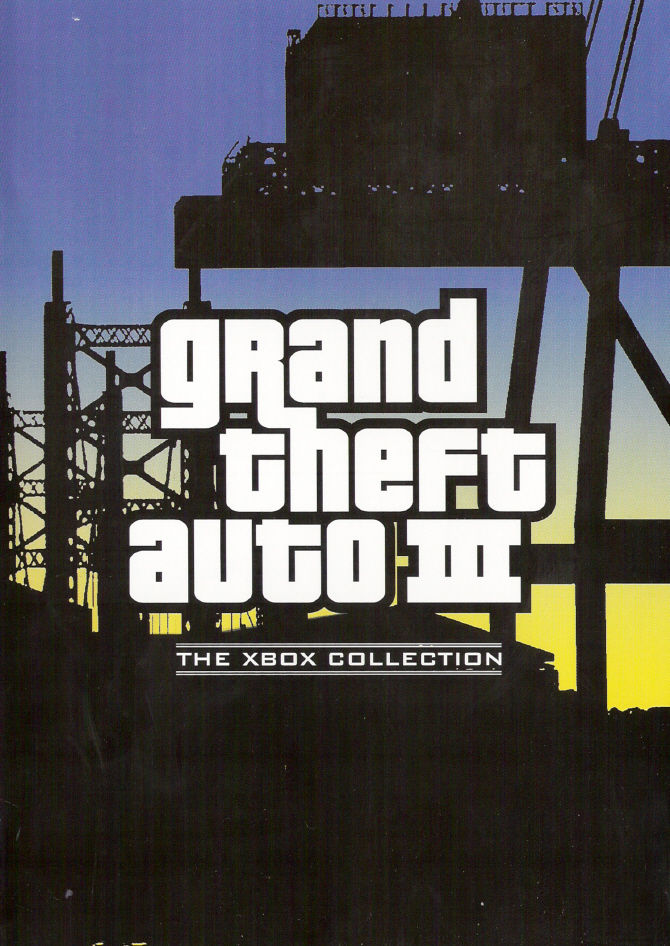 Rockstar Games Double Pack: Grand Theft Auto Xbox Other Keep Case Front Cover: GTA III