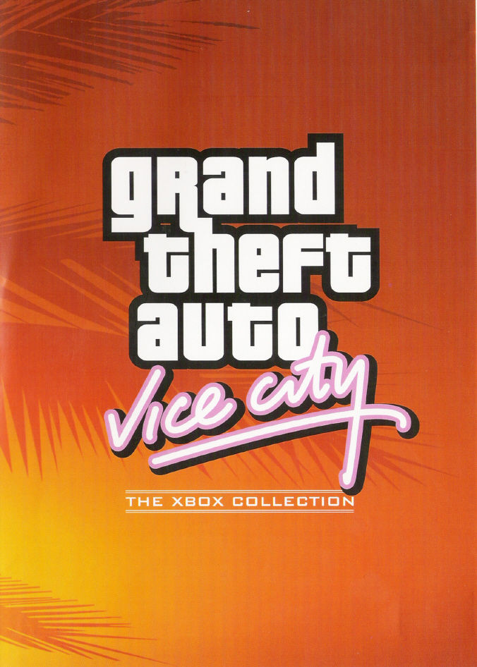 Rockstar Games Double Pack: Grand Theft Auto Xbox Other Keep Case Front Cover: GTA Vice City