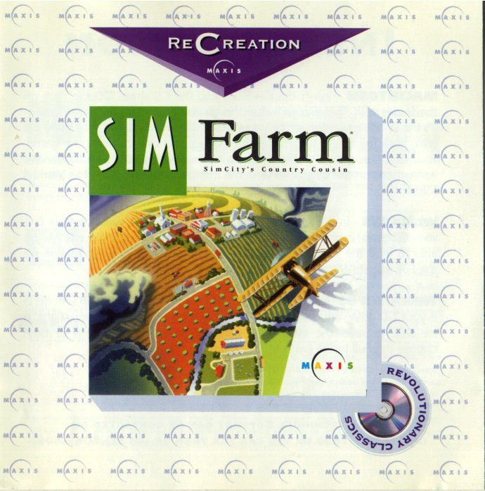 SimFarm Windows Other Jewel Case - Front