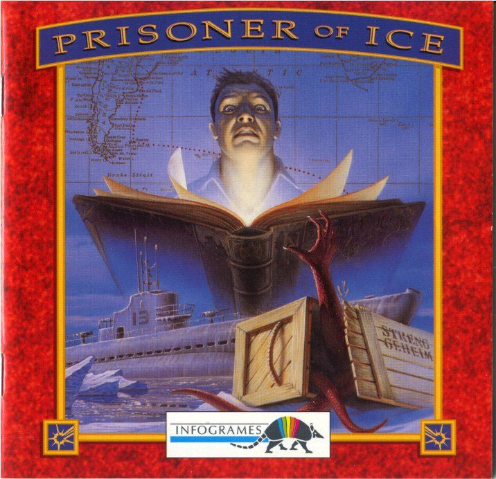 Prisoner of Ice DOS Other Jewel Case - Front
