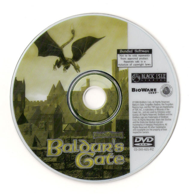 Baldur's Gate Windows Media