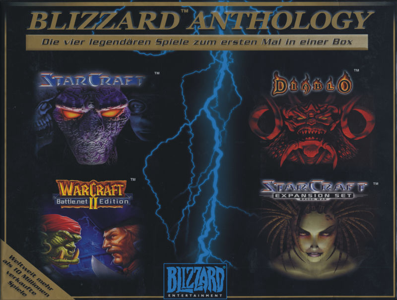 Blizzard Anthology Windows Front Cover