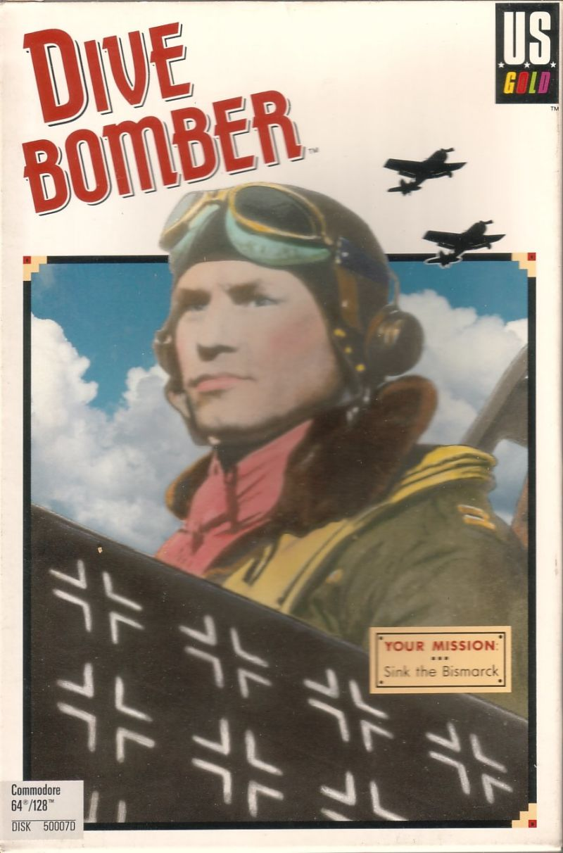 Dive Bomber Commodore 64 Front Cover