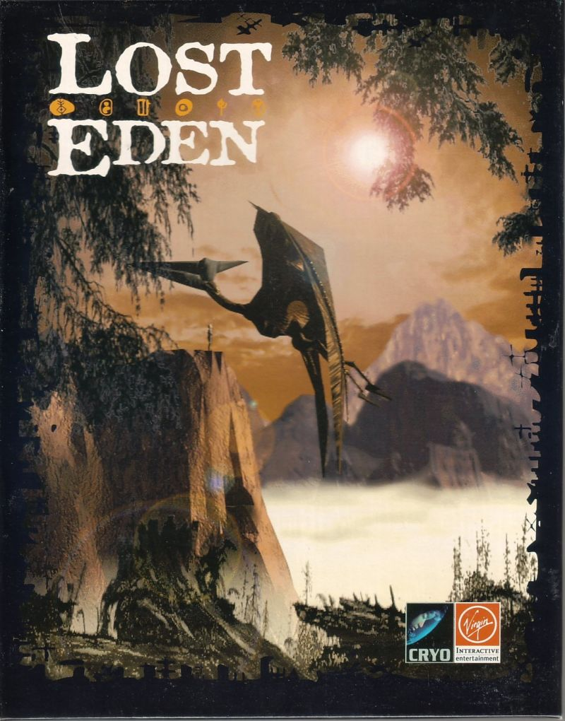 Lost Eden DOS Front Cover