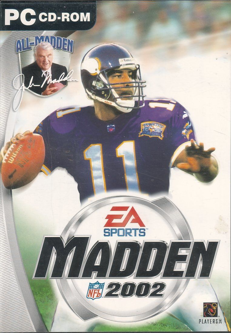 Madden NFL 2002 Windows Front Cover