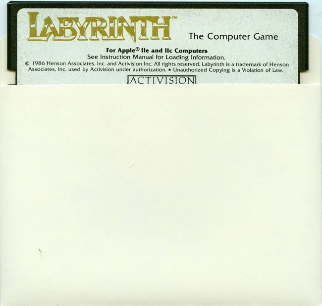 Labyrinth Apple II Media