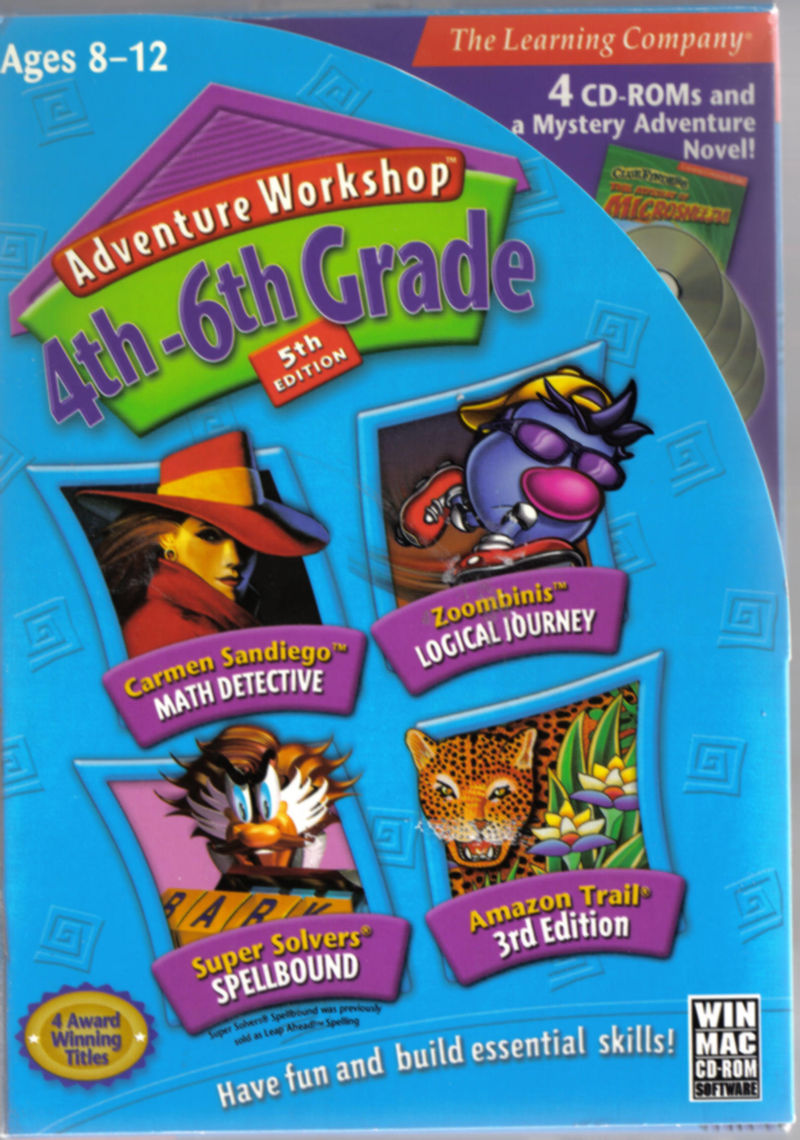 Adventure Workshop: 4th-6th Grade - 5th Edition Macintosh Front Cover