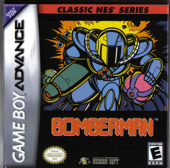 Bomberman Game Boy Advance Front Cover
