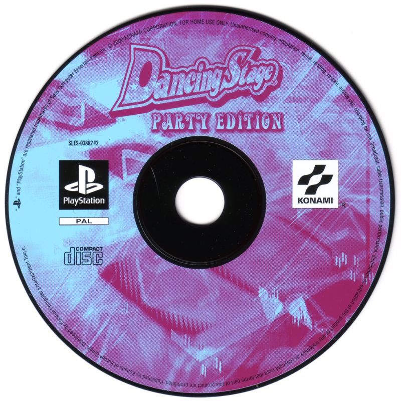 Dancing Stage Party Edition PlayStation Media