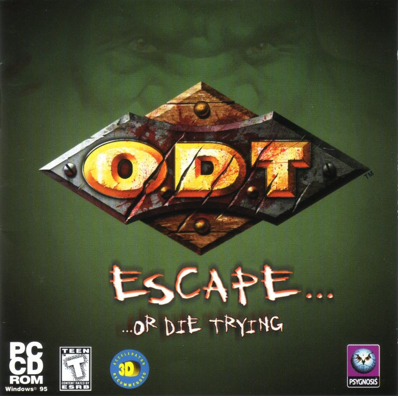 O.D.T. - Escape... Or Die Trying Windows Other Jewel Case Front