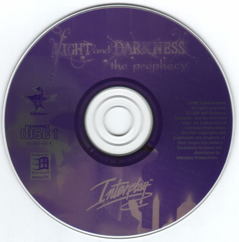 Of Light and Darkness: The Prophecy Windows Media Disc 1 of 3