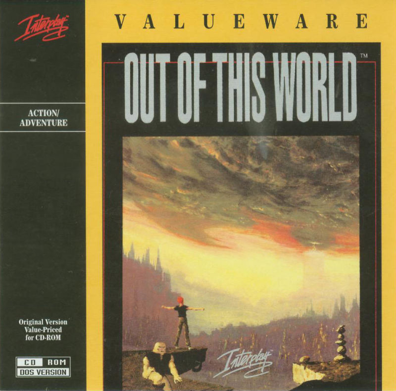 Out of This World DOS Other Jewel Case - Front