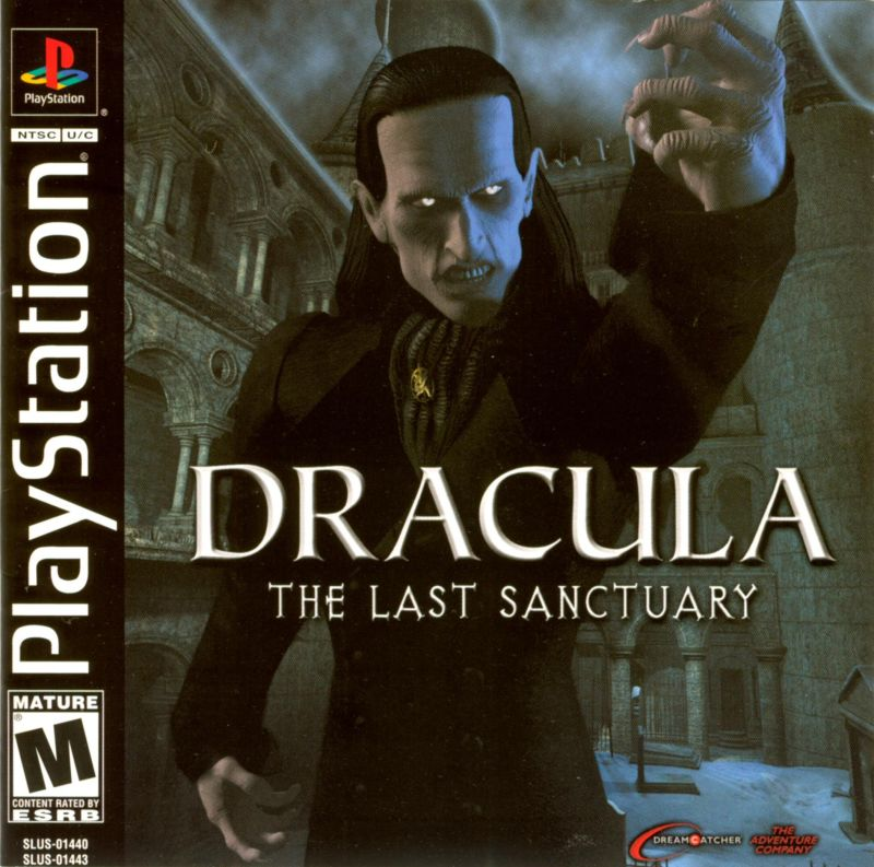 Dracula: The Last Sanctuary PlayStation Front Cover