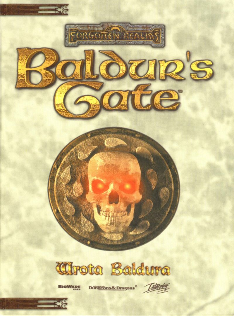 Baldur's Gate Windows Other CD Holder Front