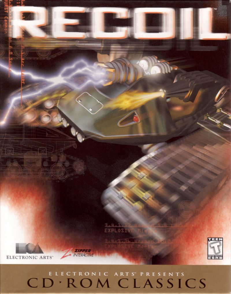 Recoil Windows Front Cover